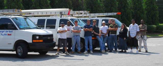 Acworth's Best Gutter Cleaners are more than a professional Acworth Gutter Cleaning Service . . . We're Family.