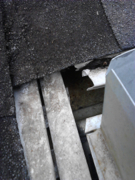 Do not install a plastic screen or cover in your gutters.