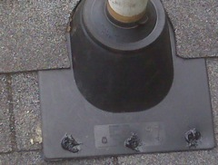 Acworth's Best Gutter Cleaners' Certainteed Certified roofers can replace your cracked and rotted vent boots.