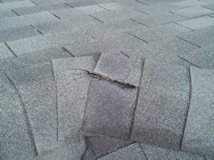 Acworth's Best Gutter Cleaners' Certainteed Certified roofers can replace cracked ridgecaps.