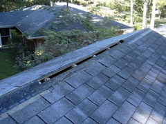 Acworth's Best Gutter Cleaners' Certainteed Certified roofers can install or replace your ridge vents.